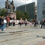 В Екатеринбурге прошел митинг в поддержку политзаключенных. Видео