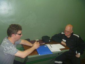 Политзаключенного Сергея Кривова посетили Правозащитники Урала