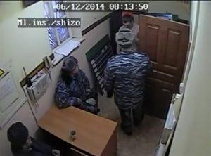 Обыск Александра Решетова. Кадр с камеры видеонаблюдения из материалов дела