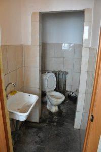туалет в дежурной части