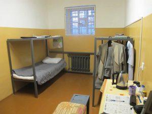 В пыточной ИК-47 на спальном месте «осужденного-активиста» наблюдателями был обнаружен мобильный телефон