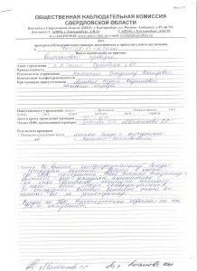 Акт проверки ФКУ ИК-13