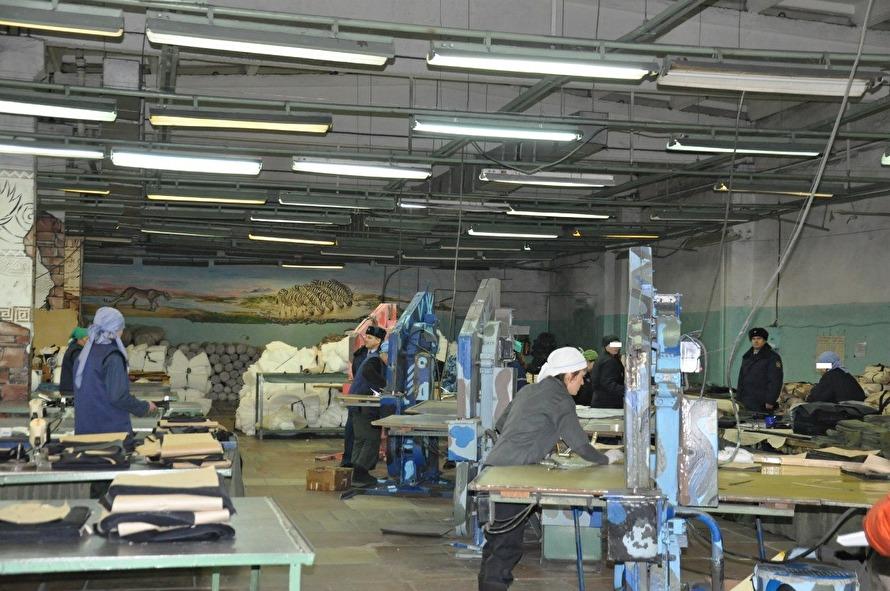 Швейное производство в ИК-52 Пермского края Фото: ОНК Свердловской области