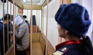 Суд, в ходе которого была арестована Варвара Караулова Фото: Владимир Астапкович / Sputnik / Scanpix