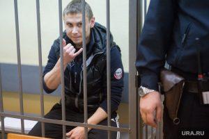 Один из подсудимых - начальник уголовного розыска Заречного Андрей Махаев (на фото)