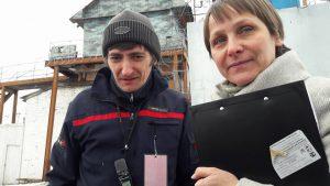 Сергей Зыков и Ольга Вековшинина