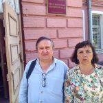 Общественные наблюдатели пришли в суд, чтобы поддержать умирающего заключенного