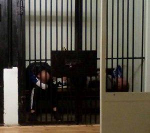 Задержанные граждане проводят ночь в ОП-16