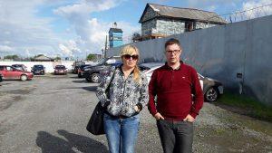 Лариса Захарова и Роман Качанов