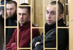 «Приморские партизаны» Никитин и Ковтун. Фото: РИА Новости