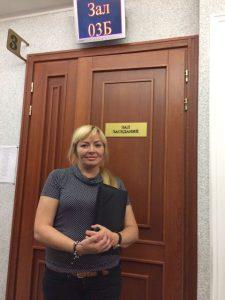 Лариса Захарова, юрист Фонда